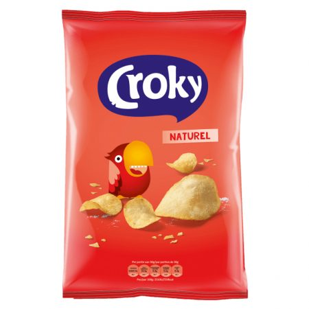 Croky Chips Natural 100g
