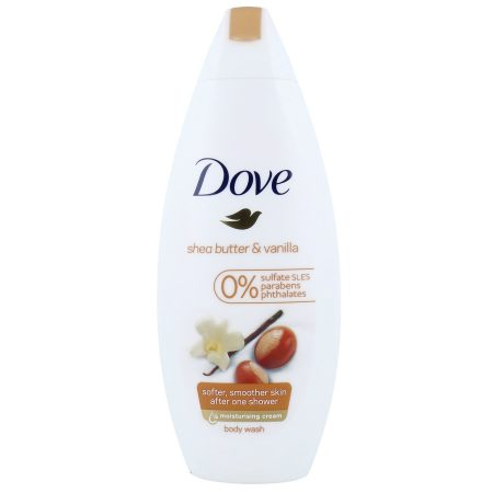 "Dove Douchecrème ""Shea Butter met Warme Vanille"" 250ml"