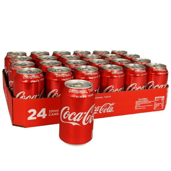 Coca cola original taste blik 24 x 33cl
