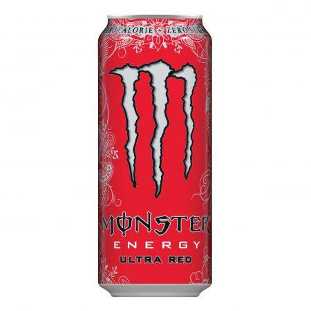 Ultra Red monster energy drink 500ml
