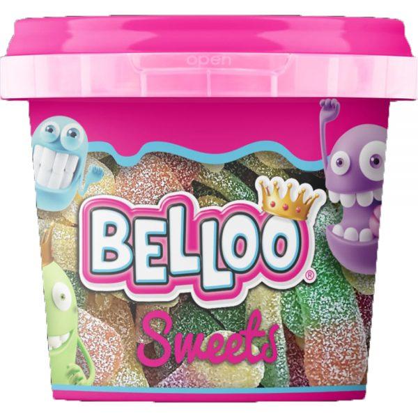 """Belloo sweets """"Zure Tongen"""" 200g Halal Gelatine"""