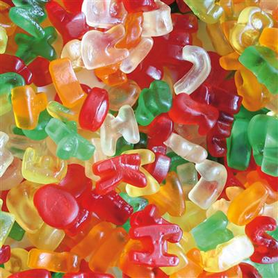 Cijfers & Letters 3kg Bulk Astra Sweets
