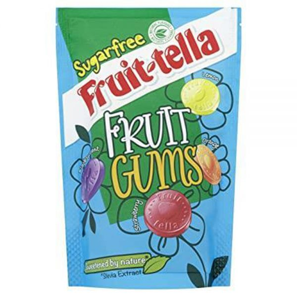 Suikervrije Fruittella Ruit Gums 90g Perfetti - Van Melle
