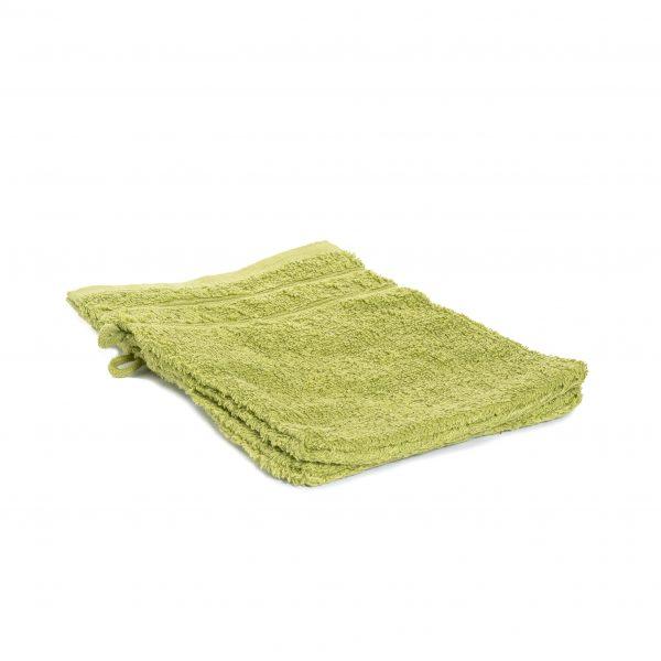 Washandjes per 2 – Fel Groen – 16 x 21cm – 100% Katoen – Gentle