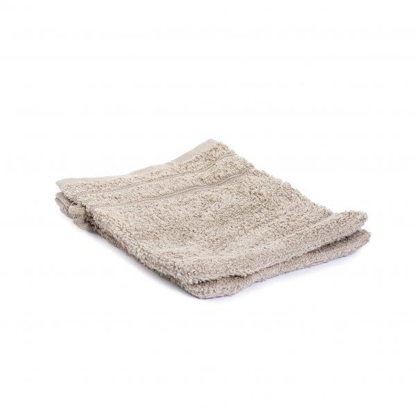 Washandjes per 2 – Beige – 16 x 21cm – 100% Katoen – Gentle