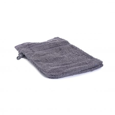 Washandjes per 2 – Grijs – Anthracite – 16 x 21cm – 100% Katoen – Gentle