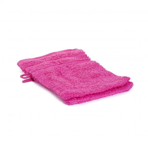 Washandjes per 2 – Fel Roze – 16 x 21cm – 100% Katoen – Gentle