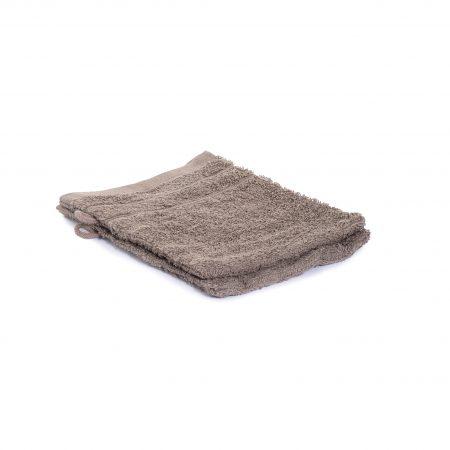 Washandjes per 2 – Dennebruin – 16 x 21cm – 100% Katoen – Gentle