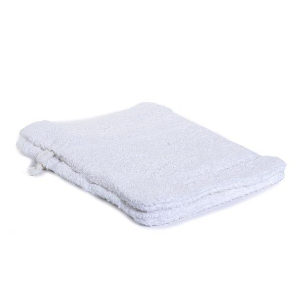 Washandjes per 2 – Wit – 16 x 21cm – 100% Katoen – Gentle