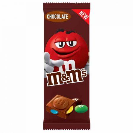M&M's Chocolade bloc 165gr