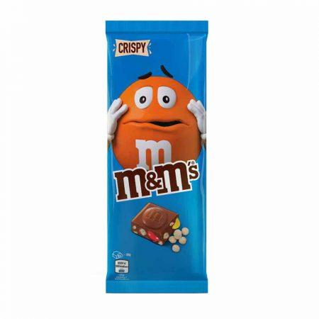 M&M's Crispy chocolade bloc 150gr
