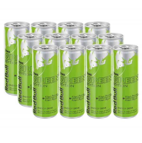 Red Bull Green Edition 12 x 250ml