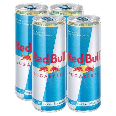 Red Bull Sugarfree 4 x 250ml