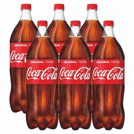Coca Cola Original Taste 6 x 1,5l PET INT