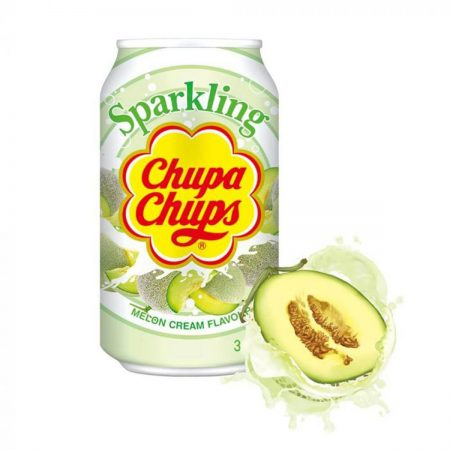 Chupa Chups Sparkling Drink Melon Cream 345ml