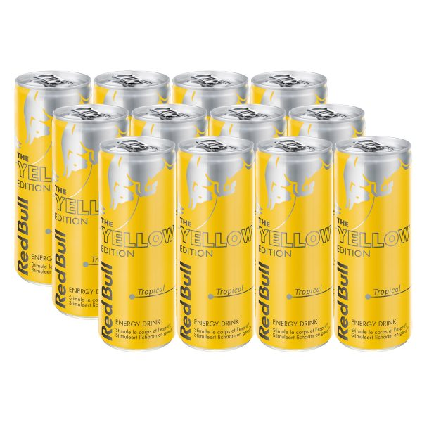 Red Bull Yellow Edition 12 x 250ml