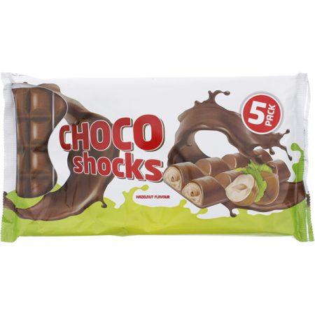 Choco Shocks Hazelnoot 5x40gr