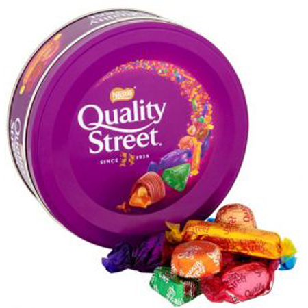 "Blikken doos ""Quality Street"" 480gr"
