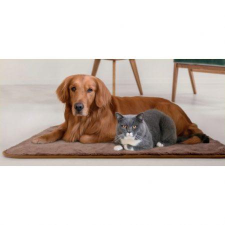 Deken voor Hond en Kat – 100% polyester- 70 x 100cm – Bruin