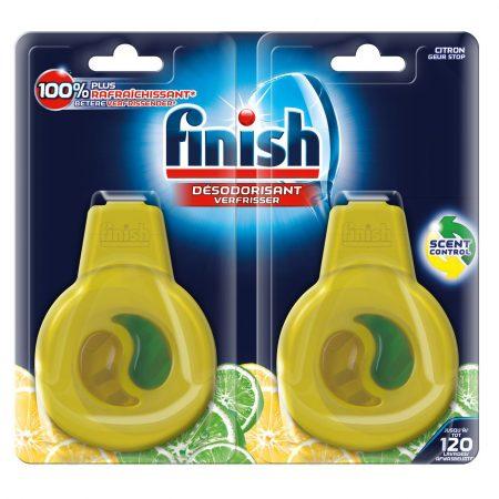 Finish Vaatwasverfrisser Citroen & Limoen – 120 afwasbeurten