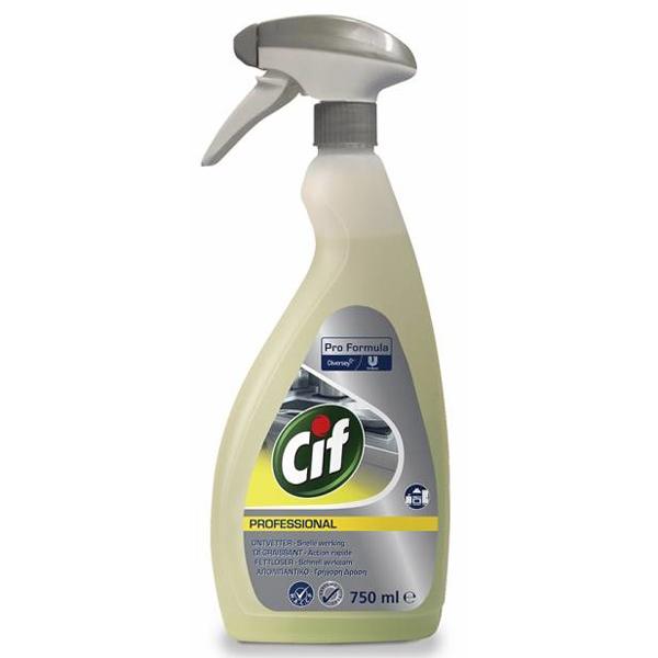 Cif Spray Professional Ontvetter - 750ml