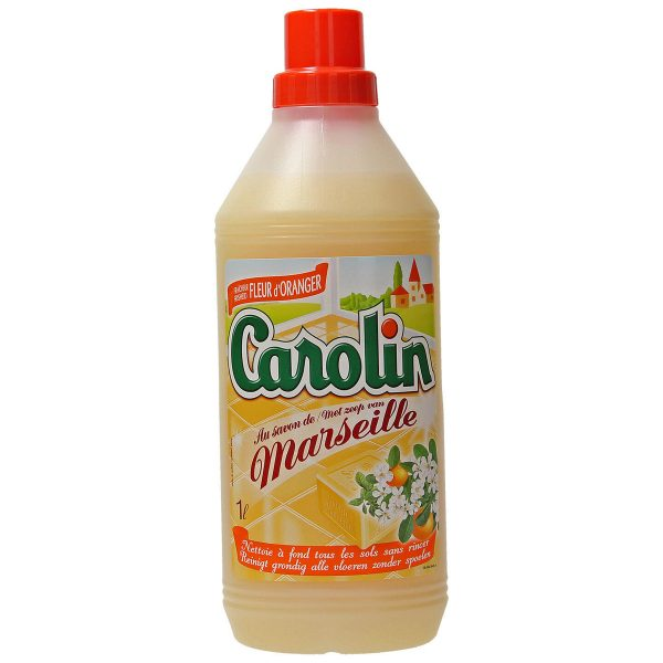Carolin Vloerreiniger met Marseillezeep - Oranje Bloesem - 1l