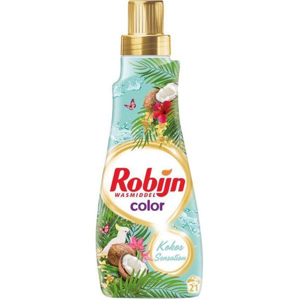 """Robijn Wasmiddel """"Gekleurde Was Kokos Sensatie"""" 21wasb./735ml"""