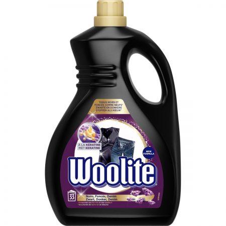 "Woolite met Keratine ""Zwart-Donker-Denim"" 33wasb/2L"
