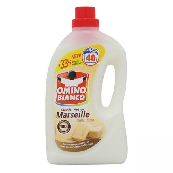 """Omino Bianco Wasmiddel """"Hart van Marseille"""" 40wasb./2l"""