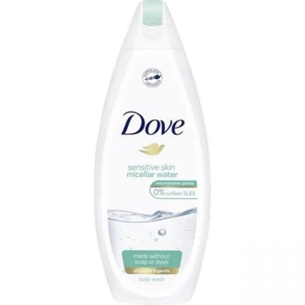 "Dove Douchecrème ""Sensitive Skin Micellar Water"" 250ml"