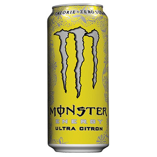 Monster Energy Ultra Citron -Zero Sugar- 500ml