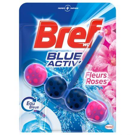 Bref Wc Hanger - Blue Activ met Rozen - 50g