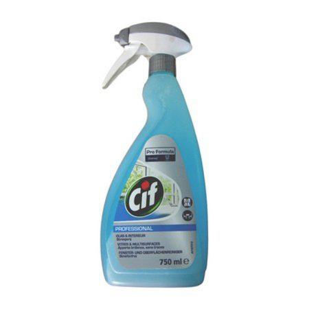 Cif Spray Professional - Glas & Interieur - Streepvrij - 750ml