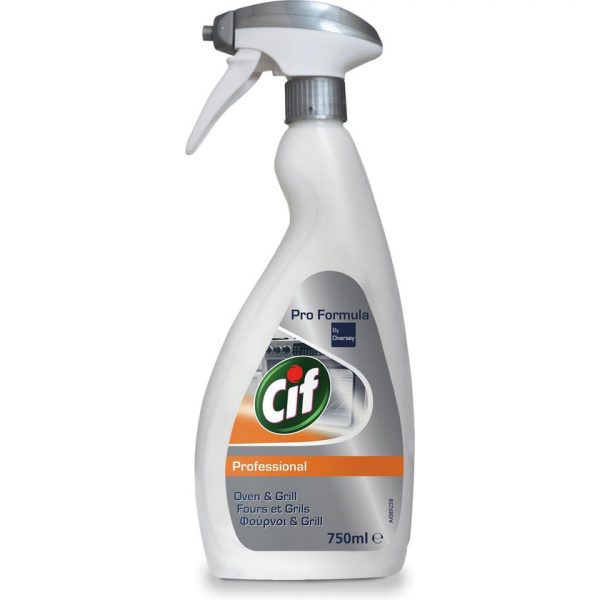 Cif Professional Spray - Oven & Grill - 750ml