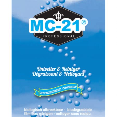 MC 21 Professionele Ontvetter & Reiniger 1L
