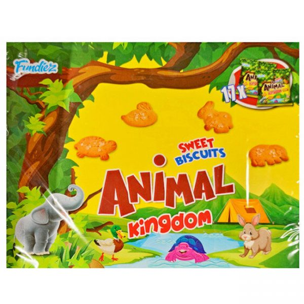 Animal Kingdom Biscuits 17 zakjes / doos