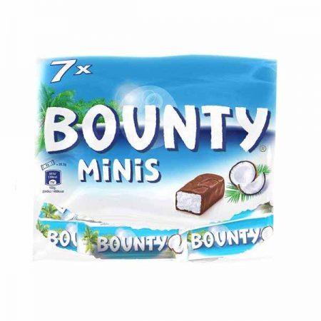 Bounty minis 206gr - 7 stuks