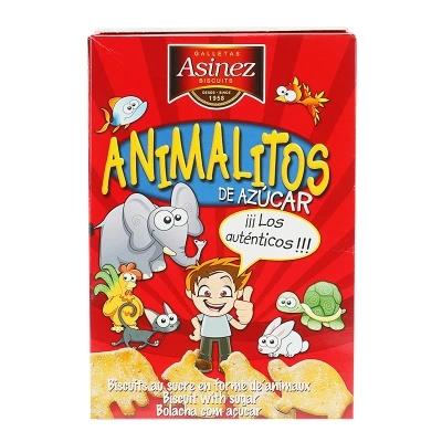 Suiker diertjes 150 gr animalitos