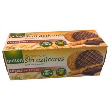 Diet Nature suikervrije koekjes met chocolade 270 gr