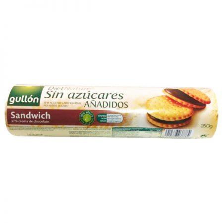 Diet Nature suikervrije koekjes- chocoladevulling 250g