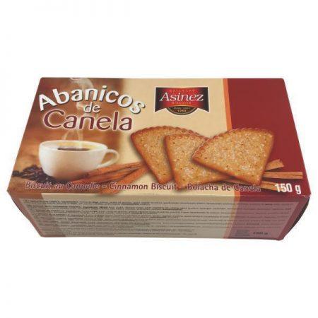 Biscuitkoeken met kaneel 150gr