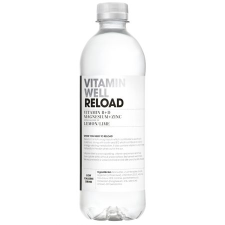 Vitamin Well Reload 500ml Lemon & Lime
