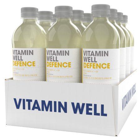 Vitamin Well Defence 12 x 500ml Citrus & Elderflower - Voordeelverpakking