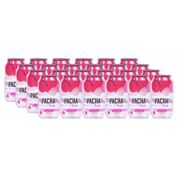 Pacha Drink Lychee 24 x 33cl - Voordeelverpakking
