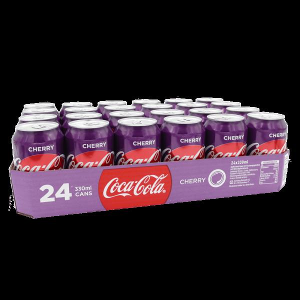 Coca Cola Cherry 24 x 33cl DK