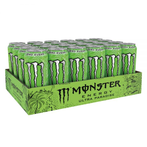 Monster Energy Drink Ultra Paradise 24 x 500ml - Voordeelverpakking