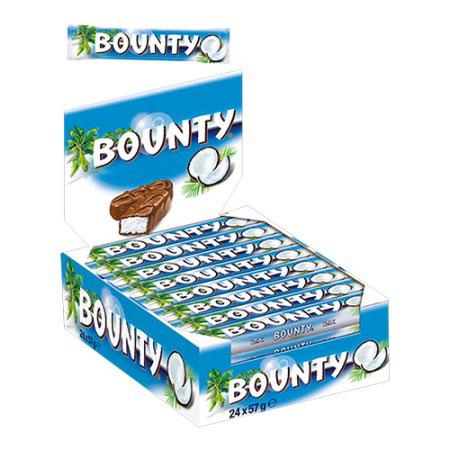 Bounty 24 x 57 gr
