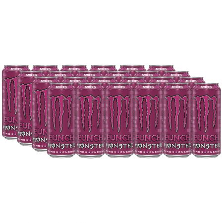 Monster Energy Drink Mixxd 24 x 500ml - Voordeelverpakking