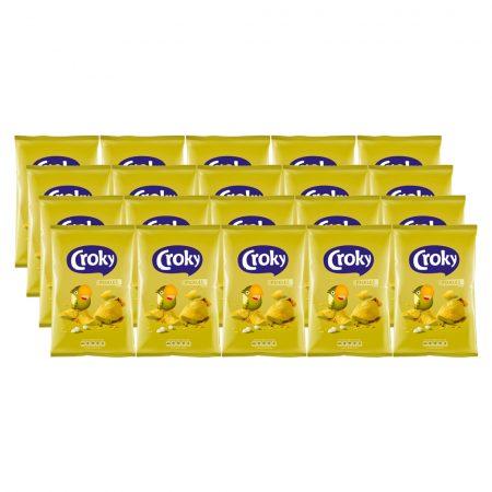 Croky Chips Pickles 20 x 40g - Voordeelverpakking