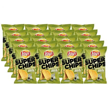 Lays Chips Salt 'N Pepper 20 x 40g - Voordeelverpakking